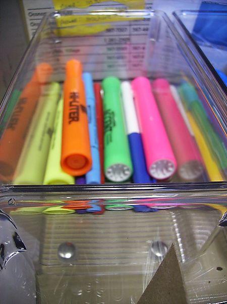 Desk drawer - organized 8