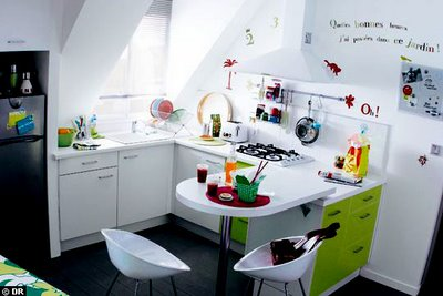 Apartment therapy - cute french kitchen