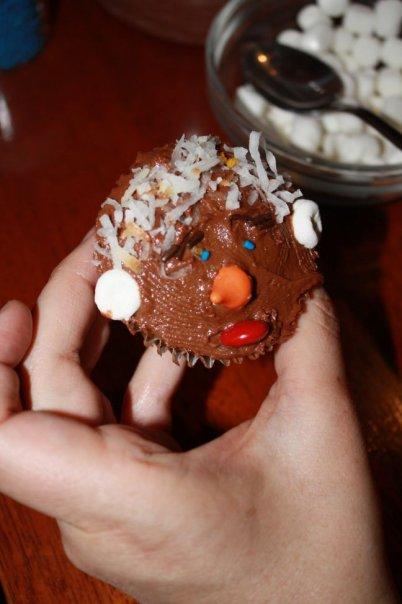 George bush cupcake