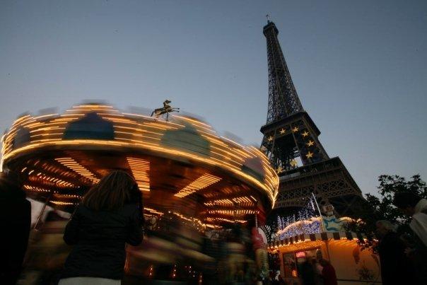 Eiffel tower + carousaljpg
