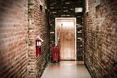 Spotless hallway