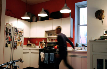 I may paint my kitchen red. I've been renting for two years