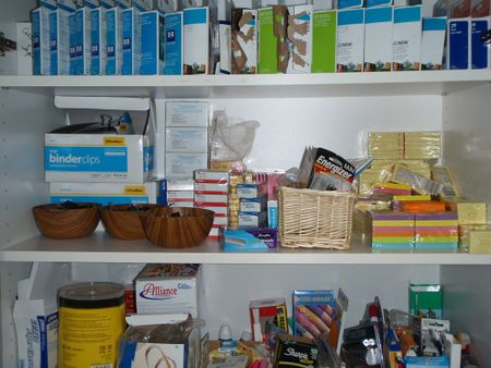 Office Supply Cupboard 5
