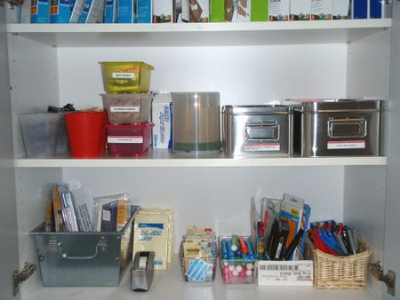 AFTER - supply cupboard