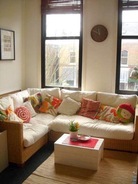 Brie flat - living room