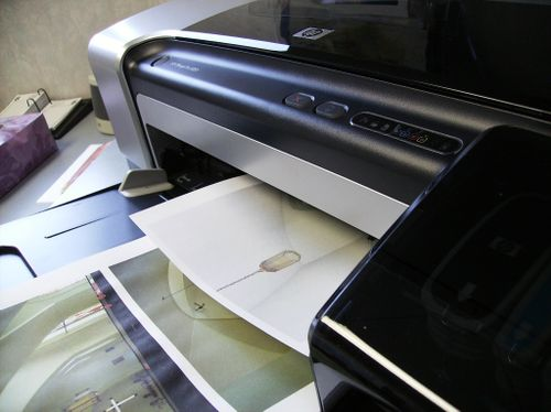 HP Printer - closeup