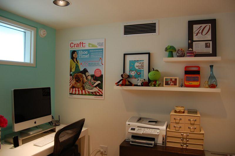 Craft room + office