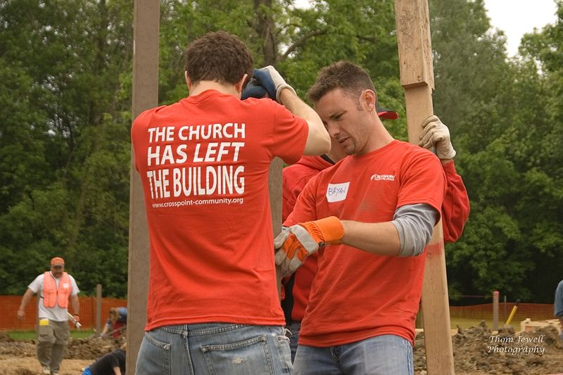 The church has left the building - 1
