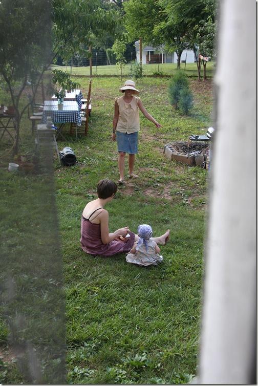 Rachel - friends backyard