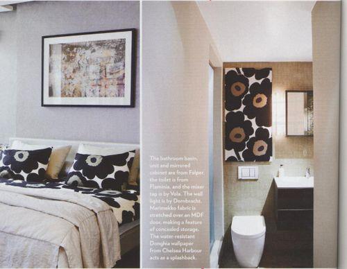 Living etc - bedroom + bathroom