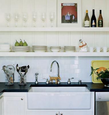 White Farmhouse Kitchen Sink Farmhouse kitchen mornings light white farmhouse kitchen sink workwithnaturefo