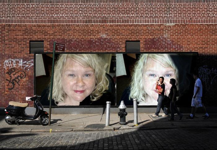 L - brick wall