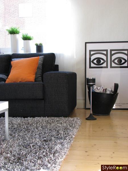Styleroom - orange in living room