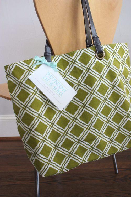 Blonde designs - reunion in a bag