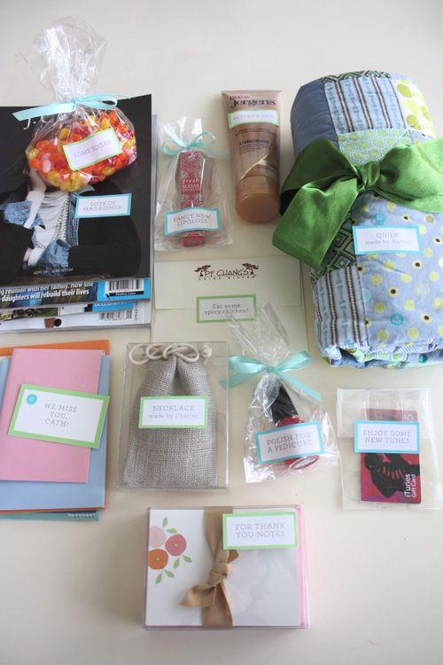 Blonde designs - reunion in a bag - items