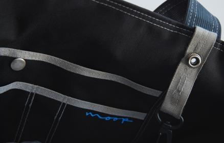 Moop letter bag - black 3