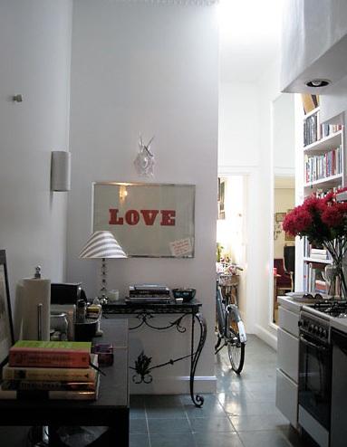 Ahern - rita konig hallway kitchen
