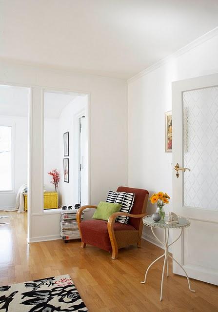 Inspirational spaces - reading corner