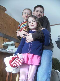 Tall kids series - all three kids - hudson - mimo - caleb