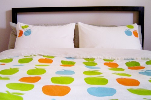 Apple duvet
