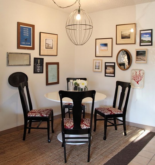 Dining area - art