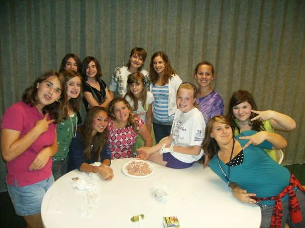 8th grade girls - 2009-2010