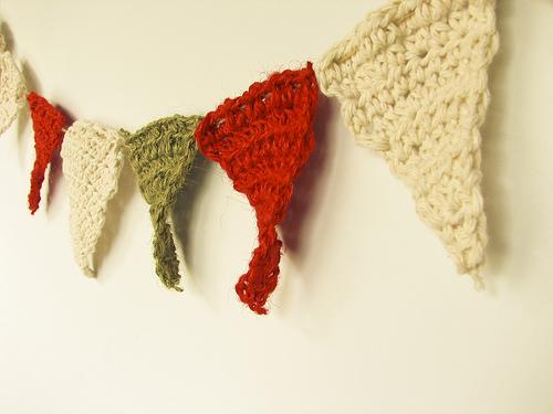 Crochet pennants - natalie jost