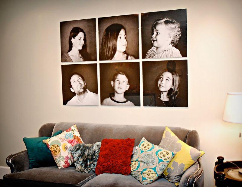 Focus jennie - brady bunch family portraits
