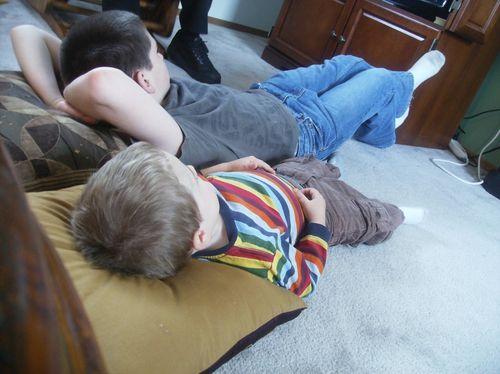 Kids - hudson imitating caleb
