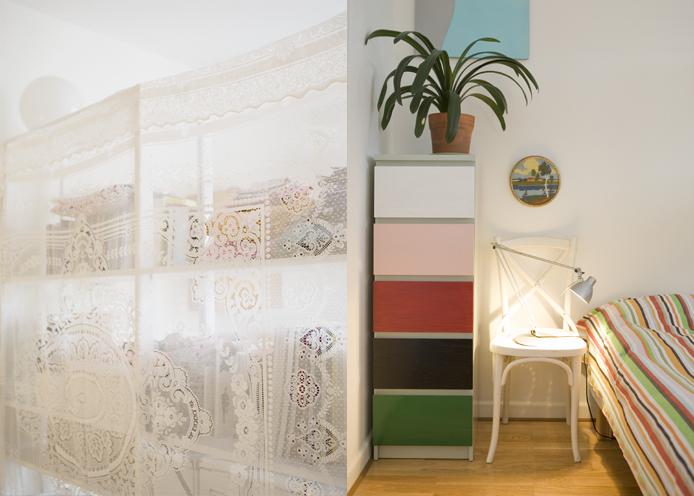 Fine little day - stripes in bedroom