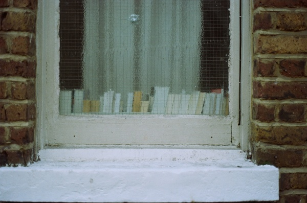 Books in window - bferry wordpress