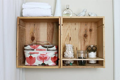 PRETTY BATHROOM STORAGE - rachel denbow 1
