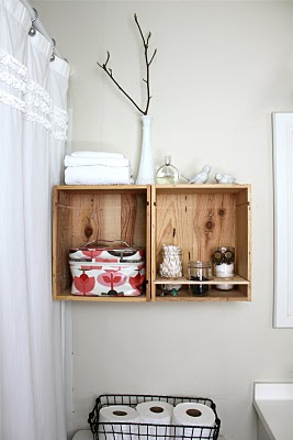PRETTY BATHROOM STORAGE - rachel denbow 2