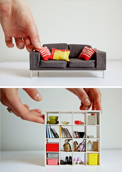 Mini cubed bookcase...