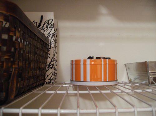 Linen closet shelf 1