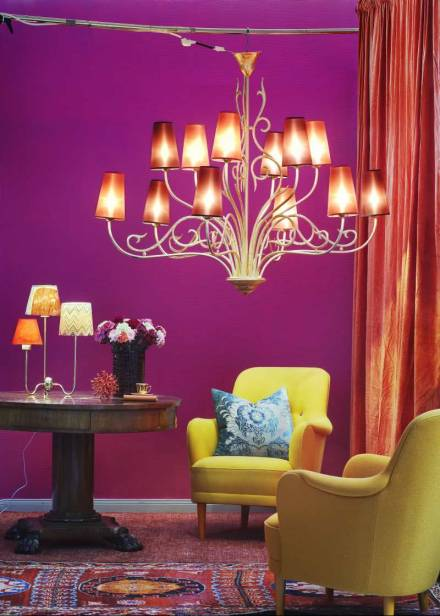 Bright Colorful Living Room Morning 39 S Light