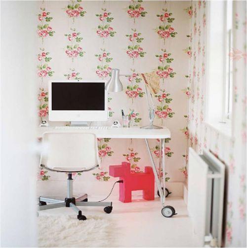 Lonny mag - cath kidston white desk
