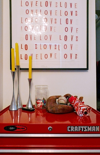 Deco my place - love - poster