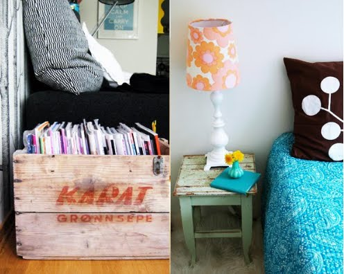 Crate of magazines - norske interiorblogger