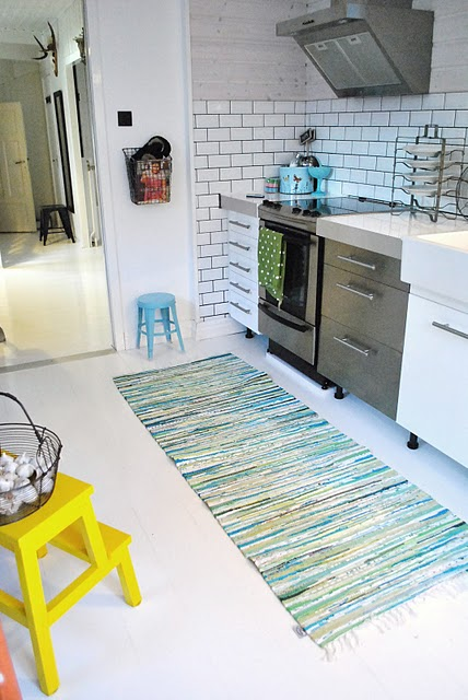 in my house - kitchen with rag rug.JPG