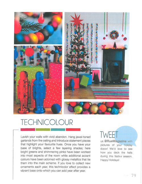 Bright christmas - via rue magazine issue 2
