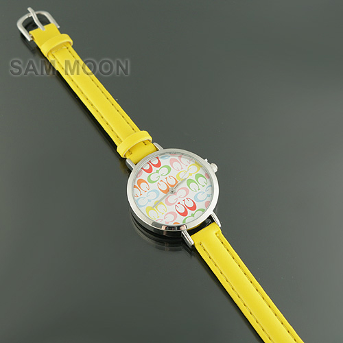 Yellow watch from sammoon dot com