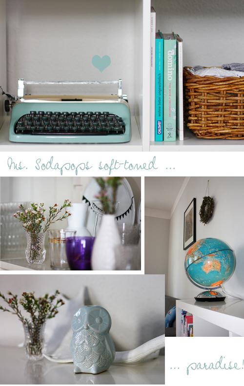 Soda Pop Design - Caro house 4 basket books