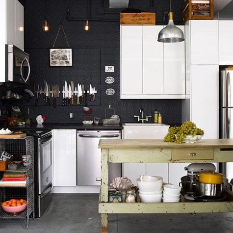 Dark Rustic Kitchen dark + rustic kitchen (morning's light )