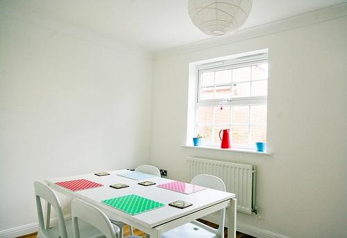 Deco my place - minimalist dining room