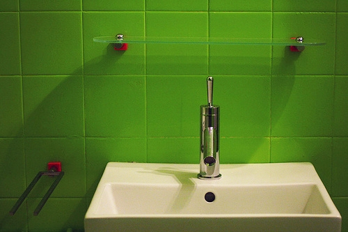 Deco my place - minimalist bathroom
