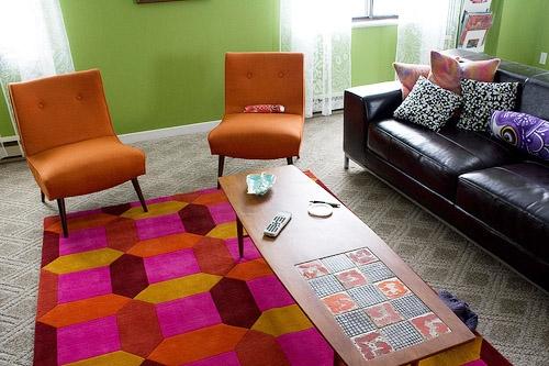 Bright rug - mary elam DMP