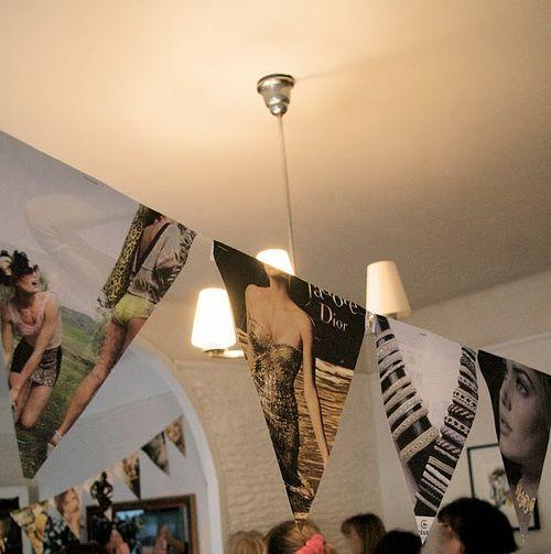 Design shimmer - magazine party decor 1