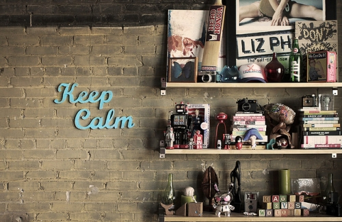 Deco my place - keep calm