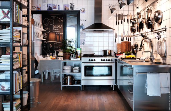 Ikea kitchen - via emmas blog 2